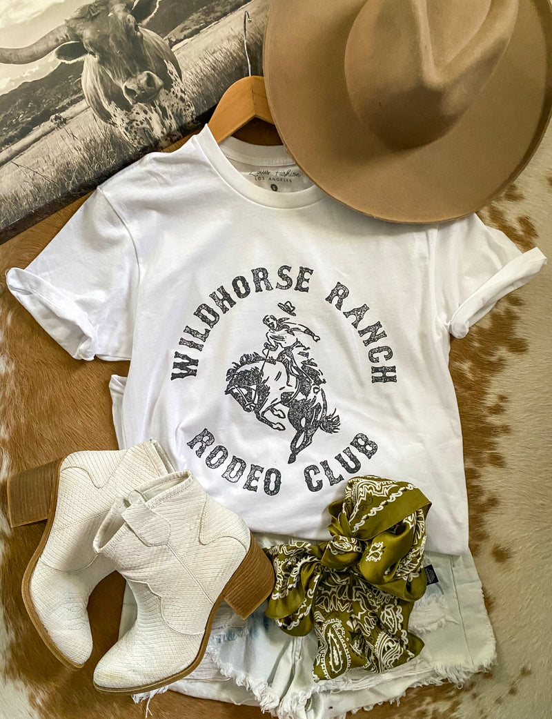 Rodeo Club Tee (white)