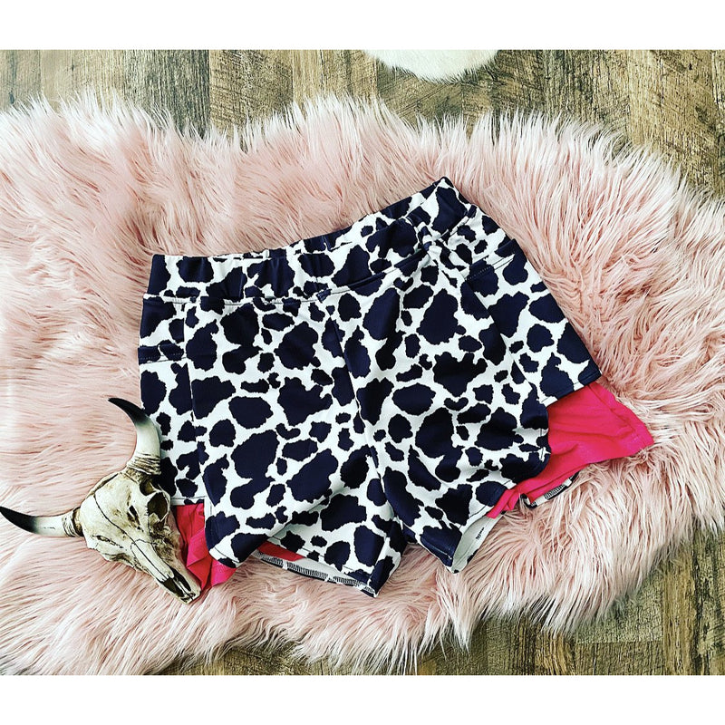 Cow babe Cowprint Shorts
