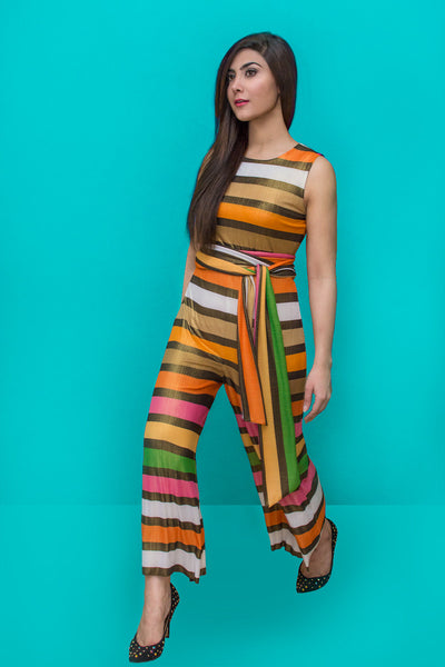 Island life detachable jumpsuit