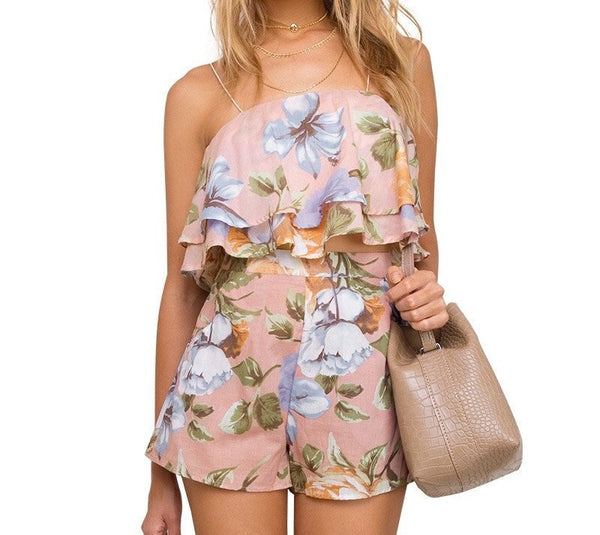 Sunset Breeze Romper