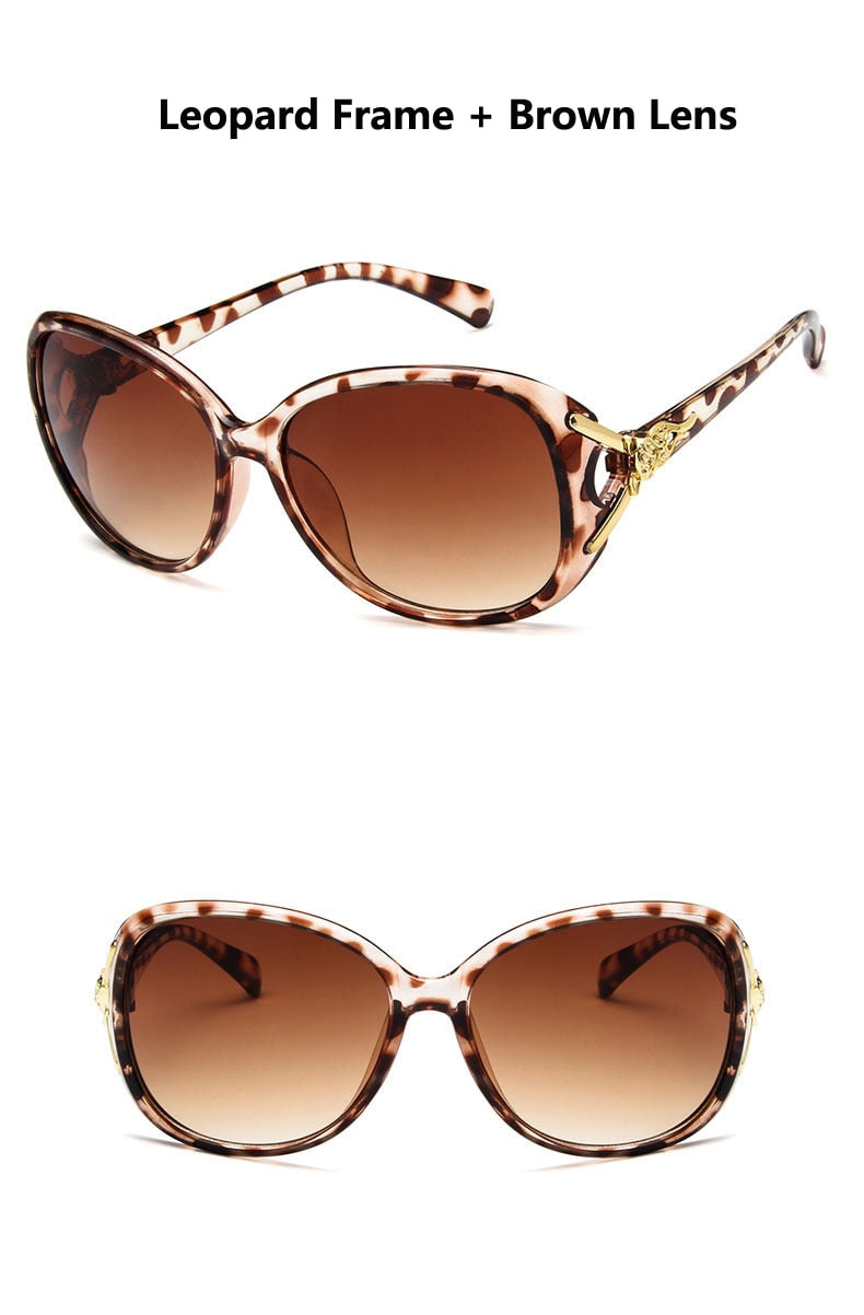 Nikki Oval Frame Sunglasses