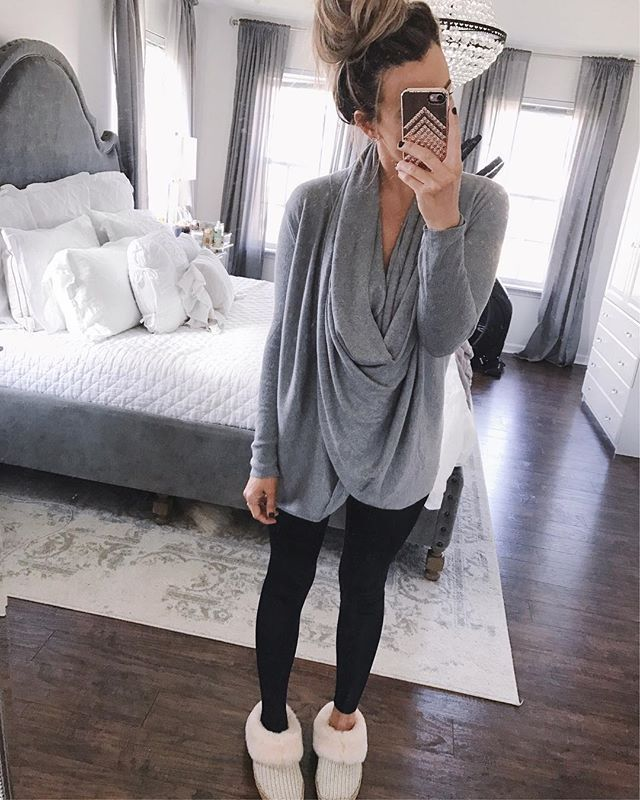 Long Sleeve Drape Shirt