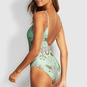 Gisele Floral Print Swimsuit