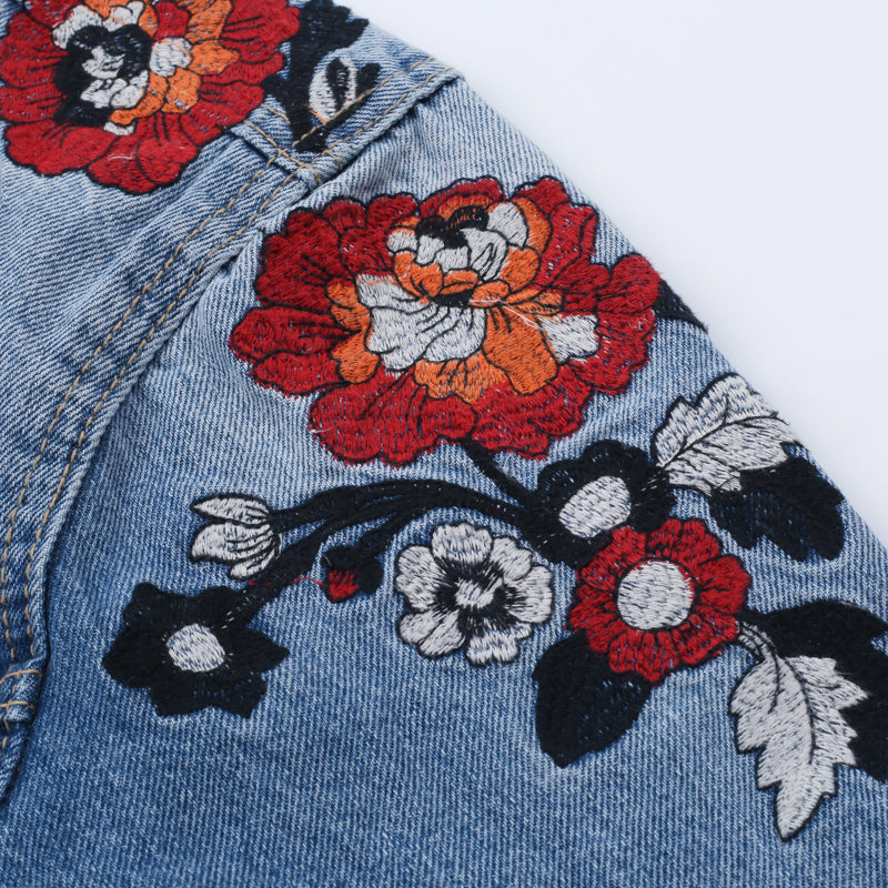 In Bloom Denim Jacket