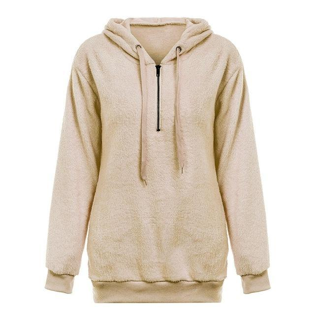 Hooded Fleece Pullover Sweatshirt