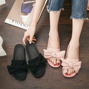 Bow Slip On Sandals