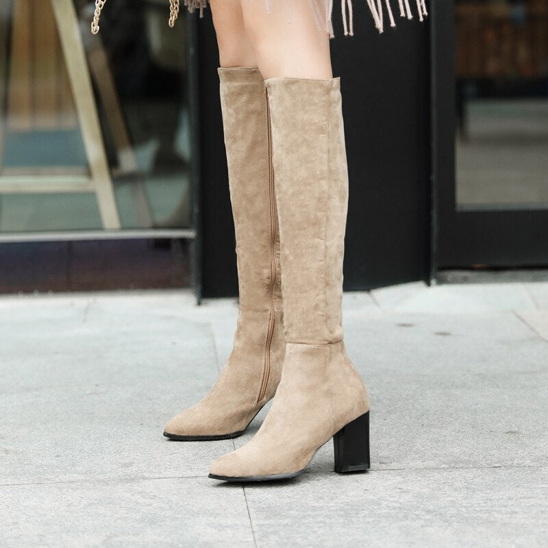 Knee High Classic Boots
