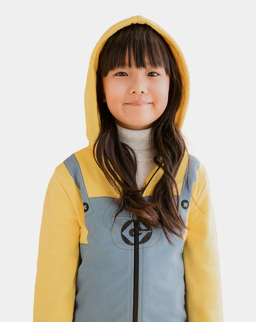 Bob The Minion Zip-Up Hoodie