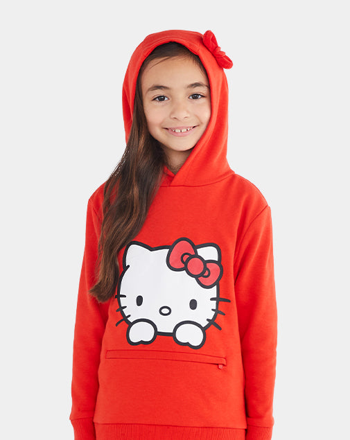 Hello Kitty Pullover Hoodie