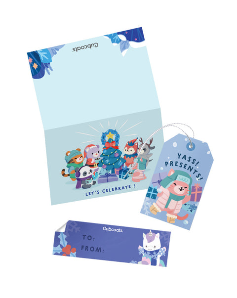Holiday Gift Tags & Greeting Cards
