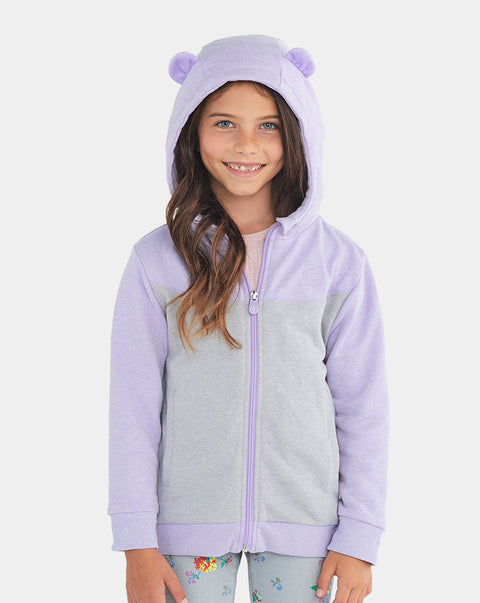 Bori the Bear Zip-Up Hoodie