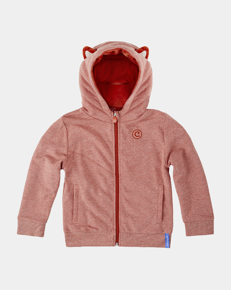 Flynn the Fox Zip-Up Hoodie