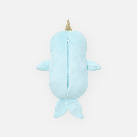 Nell the Narwhal Zip-Up Hoodie