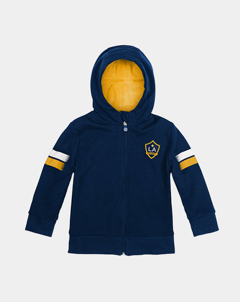 LA Galaxy Zip-Up Hoodie