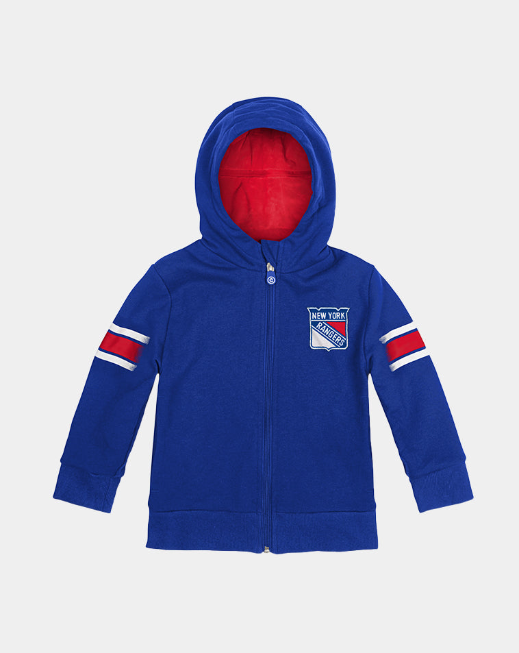 New York Rangers Zip-Up Hoodie