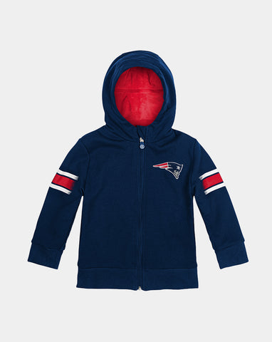 New England Patriots Zip-Up Hoodie