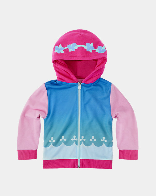 Poppy the Troll Zip-Up Hoodie