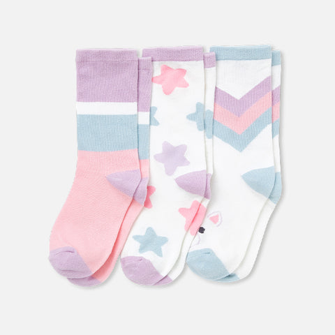 Uki the Unicorn Socks (3-Pack)