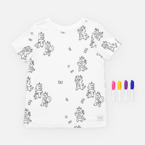 Uki the Unicorn T-Shirt and Marker Set