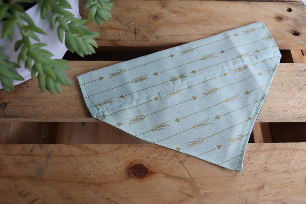Mint Arrow Bandana