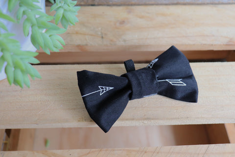Black Arrow Bow Tie