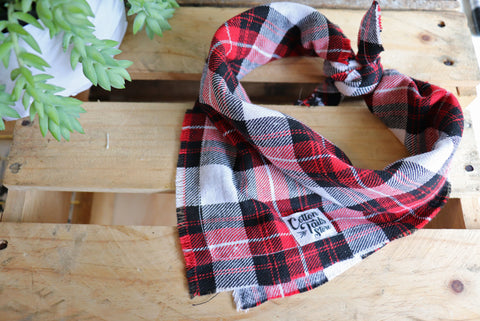 Red Tartan Neckerchief