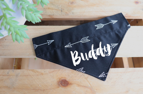 Black Arrow Custom Bandana