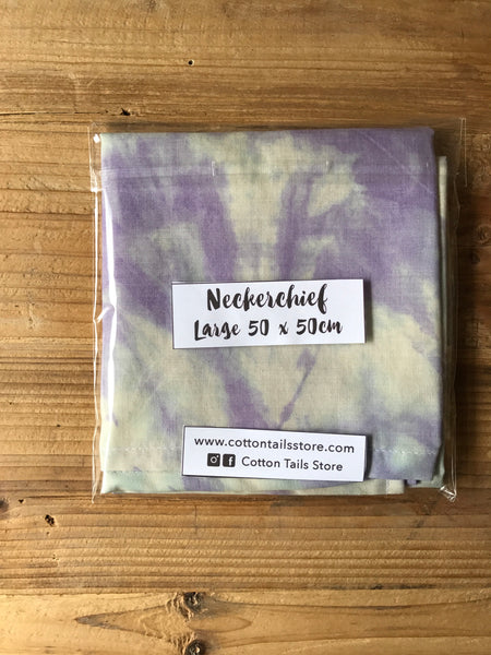 Purple Tie Dye Neckerchief