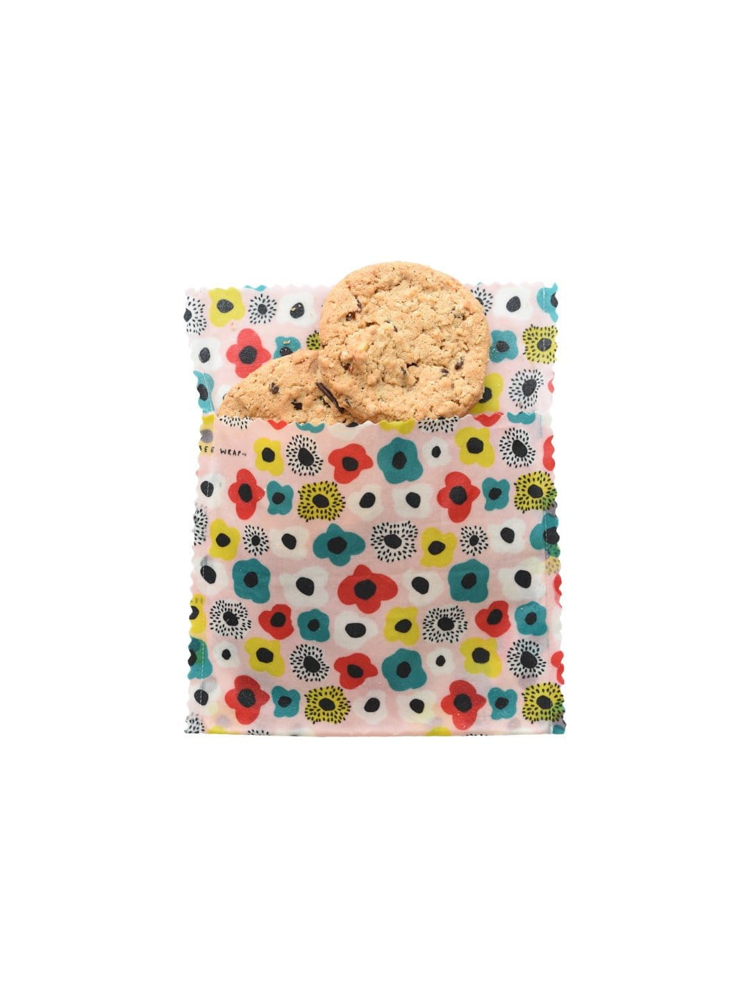 Pocket Full of Poppies - Medium Snack Bag (Organic Cotton)
