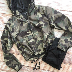 Trickster Hooded Camo Jacket