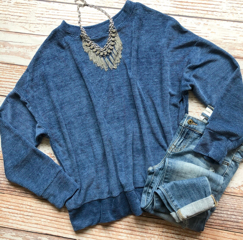 Blueberry Pie Chenille Top