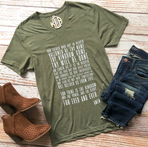 The Lord's Prayer Tee