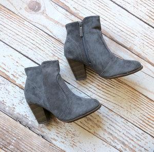 Not Average Booties in Gray