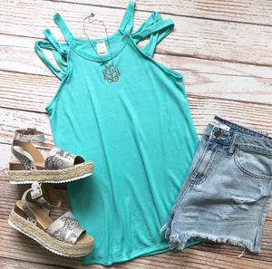 Summer Horizon Top In Mint