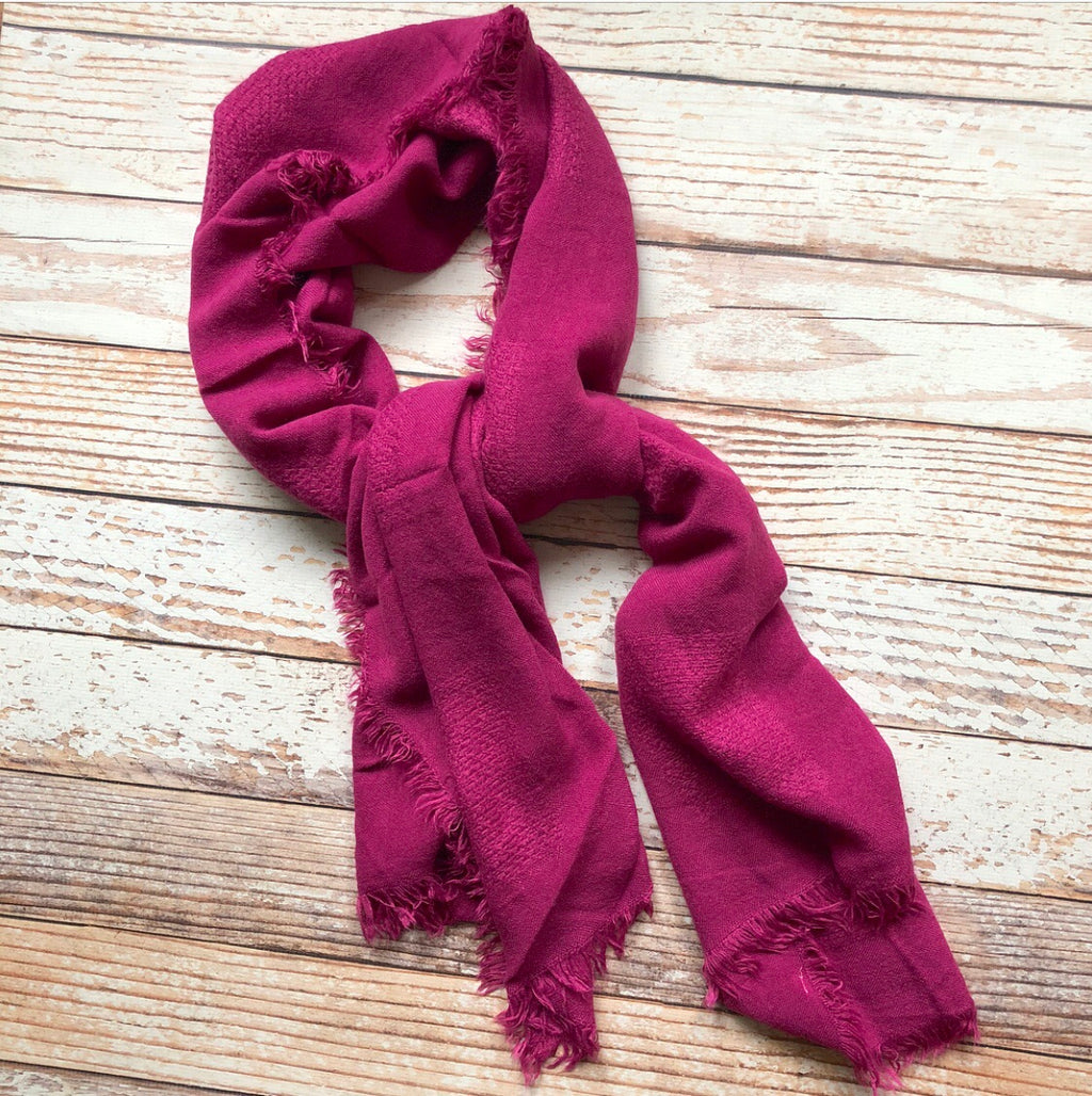 Ingrid Scarf In Magenta