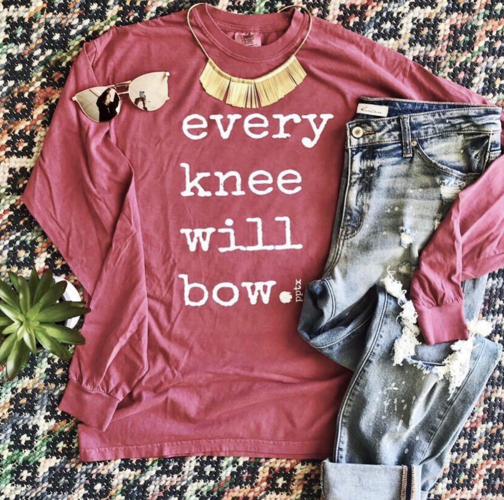 Every Knee Tee In Brick