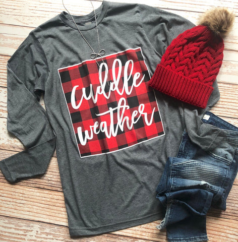 Cuddle Weather Tee