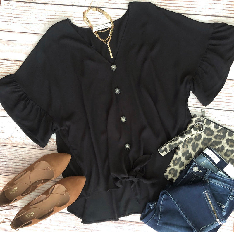 Melody Top In Black