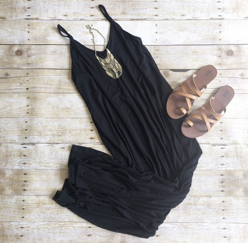 Mallory Maxi In Black