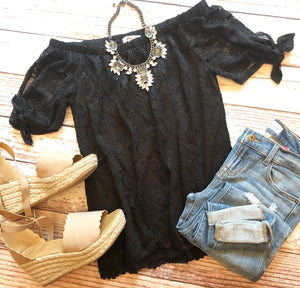 Lace Obsession Top