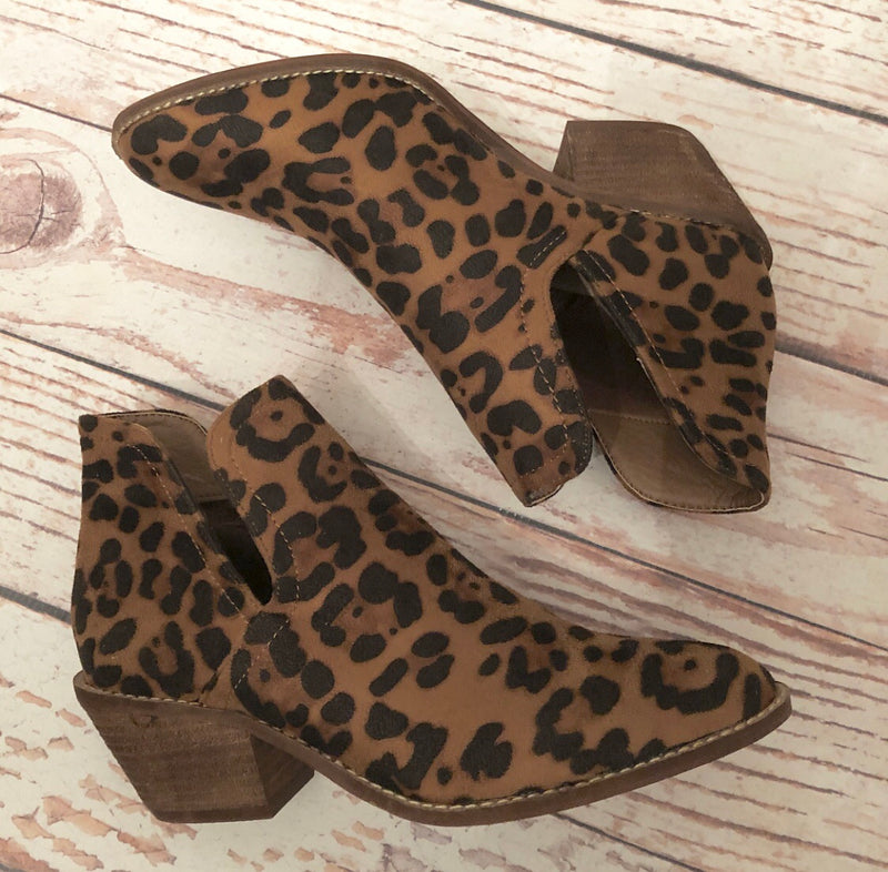 Wild Thing Leopard Booties