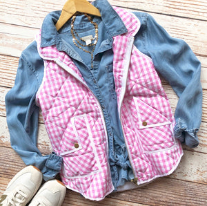 Boardwalk Vest In Pink