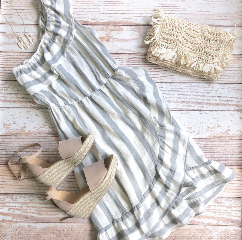 Lucy Lou Striped Dress