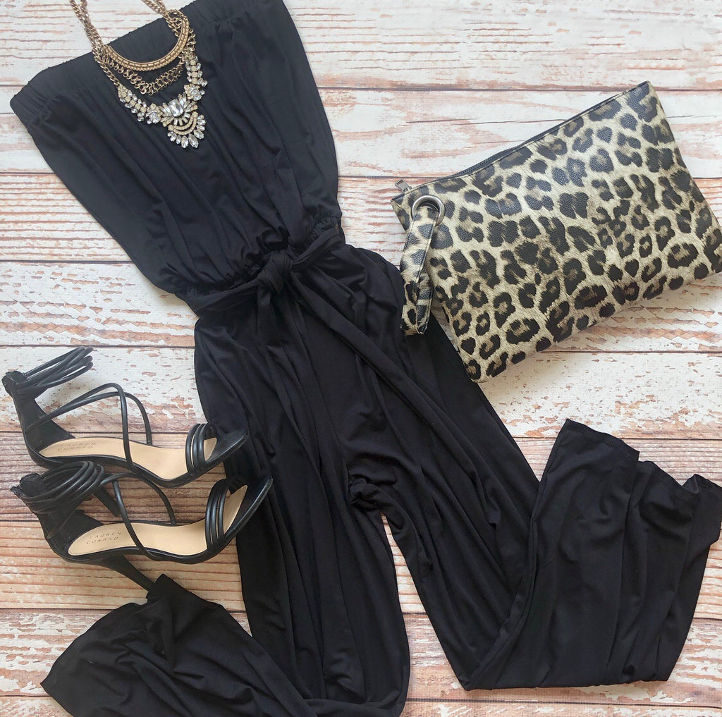 Chloe Jumpsuit In Black