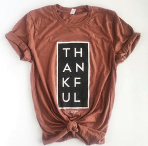 Thankful Tee In Rust