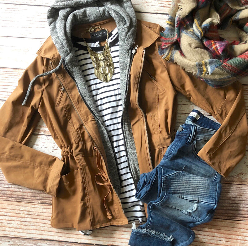 Hay Ride Ready Jacket in Camel
