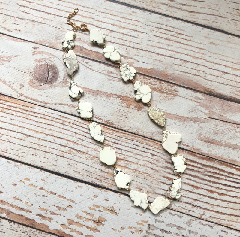 Rivulet Necklace In Cream