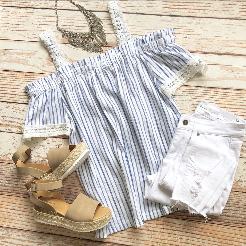 Larissa Striped Top