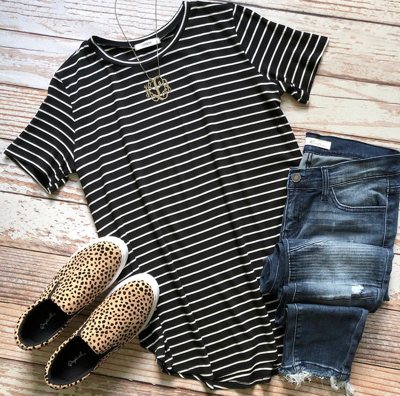 Addison Striped Top