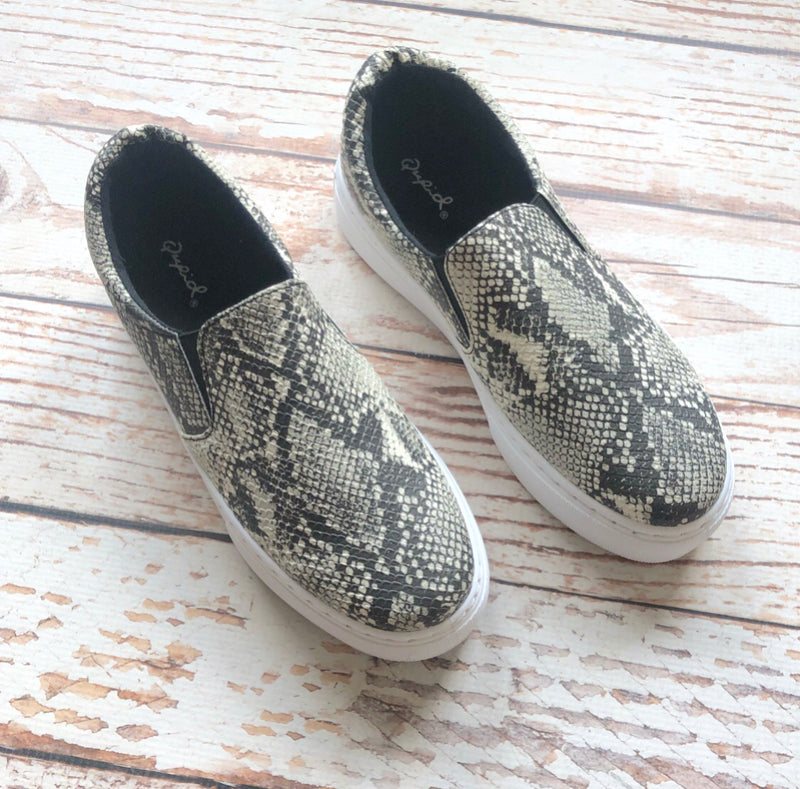 Lily Snake Sneakers